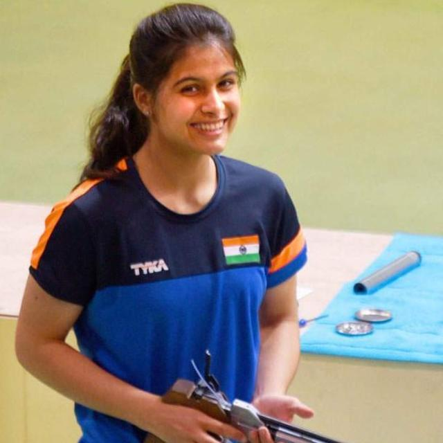 MANU BHAKER BECOMES INDIA'S FIRST WOMAN GOLD MEDALIST AT YOUTH OLYMPICS
