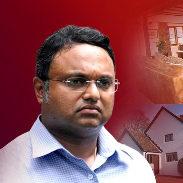 ED ATTACHES ASSETS OF KARTI CHIDAMBARAM WORTH RS. 54 CRORE