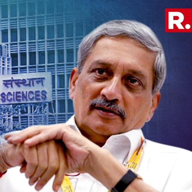 MANOHAR PARRIKAR CALLS FOR ALLIANCE PARTNERS MEETING IN HOSPITAL