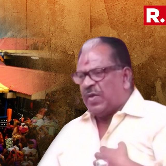 KERALA ACTOR'S SHOCKING REMARK ON WOMEN ENTERING SABARIMALA TEMPLE