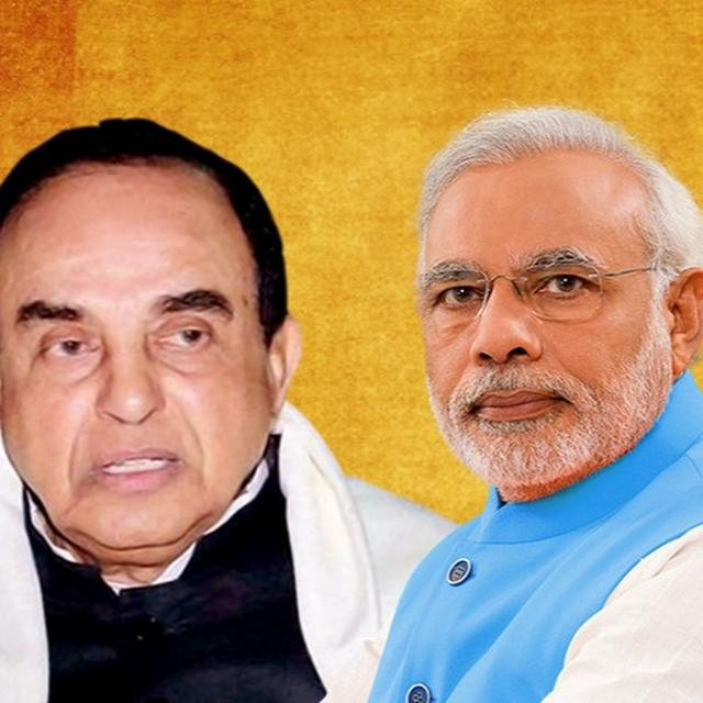 SUBRAMANIAM SWAMY DEMANDS PM MODI TO SPEAK ON ALLEGATIONS AGAINST MJ AKBAR