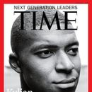 MBAPPE FEATURES ON TIME MAGAZINE FRONTCOVER
