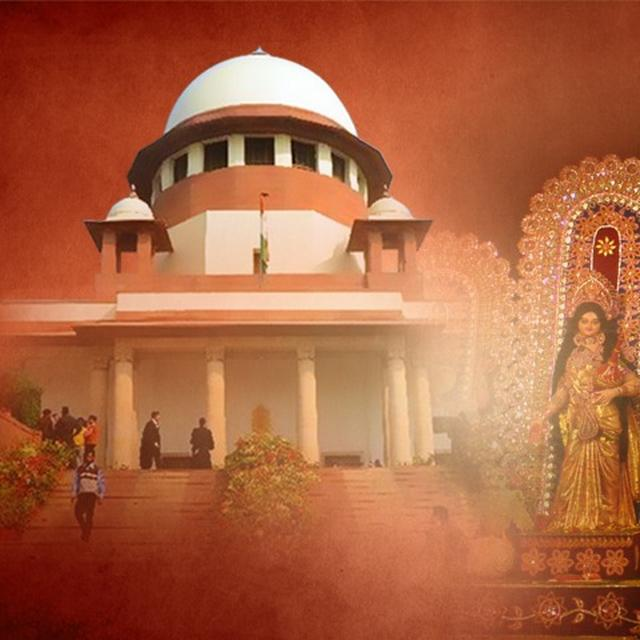 SC REFUSES TO STAY WB DECISION TO GRANT RS 28 CR TO DURGA PUJA COMMITTEES