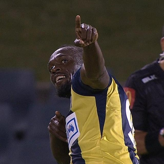 WATCH: USAIN BOLT SHINES ON FIRST START FOR CENTRAL COAST MARINERS