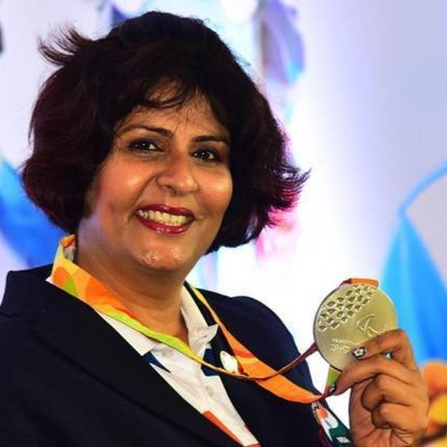 DEEPA MALIK SHINES WITH BRONZE IN DISCUS THROW EVENT