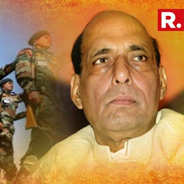 TECH SOLUTIONS WILL ELIMINATE NEED FOR SOLDIER TO STAND GUARD TO PROTECT BORDERS: RAJNATH