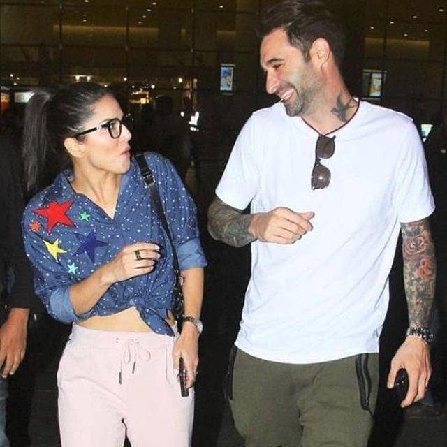 HERE'S HOW SUNNY LEONE WISHED HER HUSBAND DANIEL WEBER ON HIS BIRTHDAY