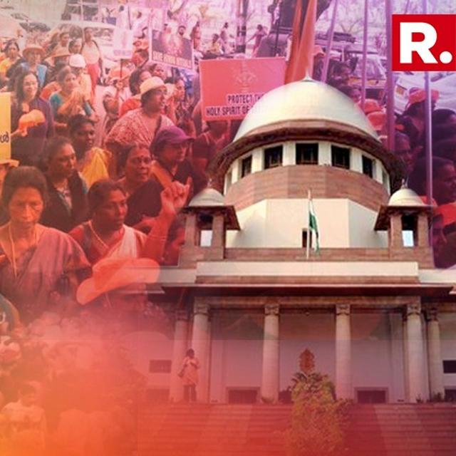 SC TO DECIDE WHEN TO HEAR REVIEW PETITIONS ON SABARIMALA TEMPLE ON TUESDAY