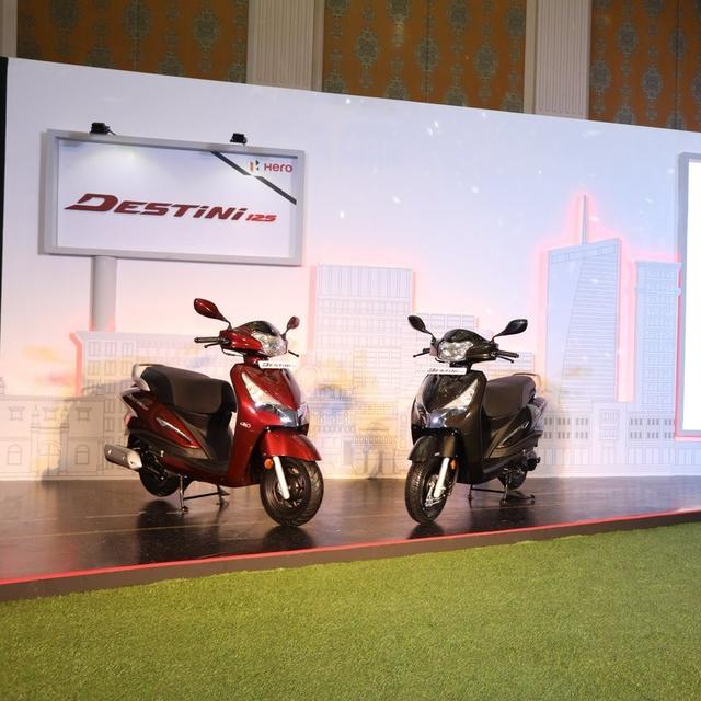 HERO MOTOCORP FORAYS INTO 125-CC SCOOTER SEGMENT WITH DESTINY 125