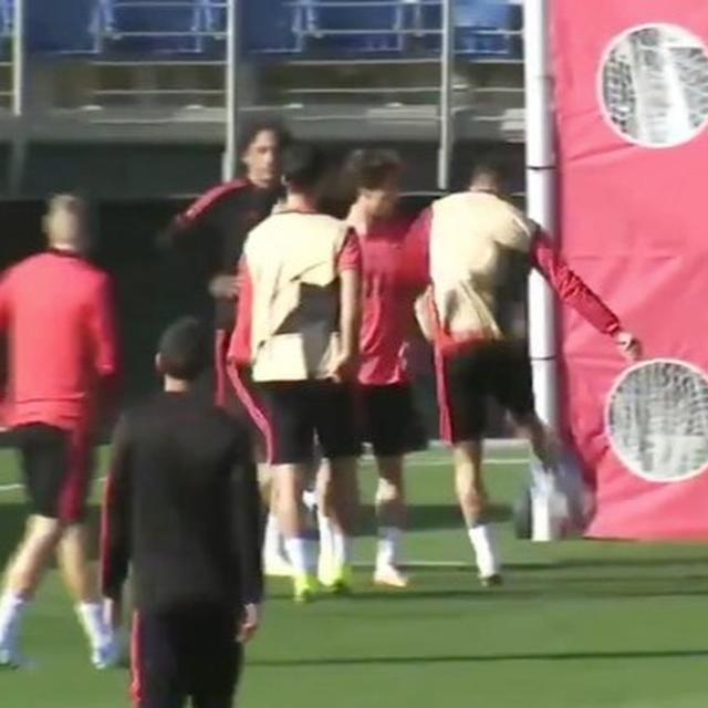 WATCH: RAMOS LOSES COOL DURING TRAINING SESSION