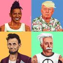 ARTIST DRAWS FAMOUS HISTORICAL FIGURES AS MODERN-DAY 'HIPSTERS'