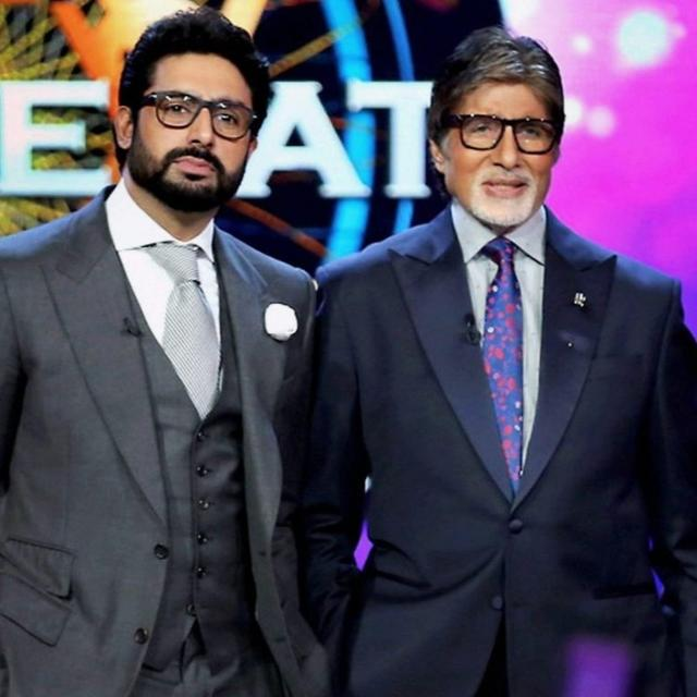 ABHISHEK BACHCHAN HAS ANOTHER NAME FOR AMITABH BACHCHAN AFTER SHARING HIS THROWBACK PICTURE