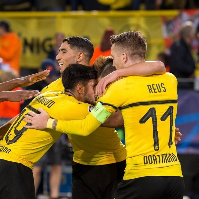 DORTMUND BEATS ATLETICO MADRID