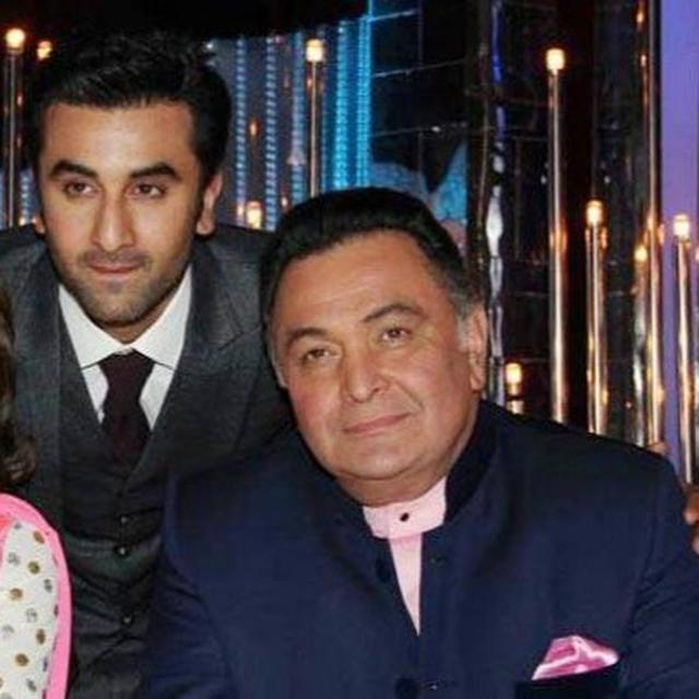 NEETU KAPOOR SHARES A PICTURE OF RANBIR AND RISHI KAPOOR AND ITS CAPTION HAS AN EMOTIONAL MEANING