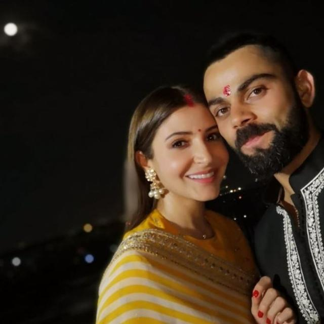 AFTER CREATING RECORD, VIRAT KOHLI CELEBRATES FIRST KARWA CHAUTH WITH ANUSHKA SHARMA; HERE ARE COUPLE'S LOVELY POSTS FOR EACH OTHER
