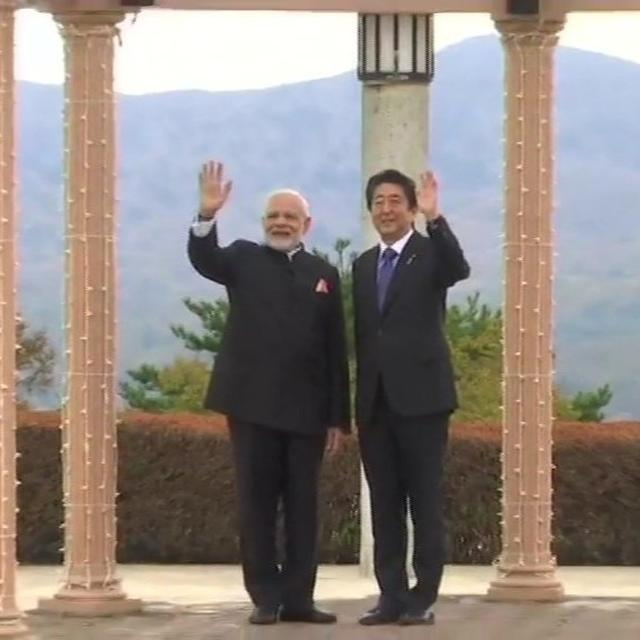 HERE'S WHAT PM MODI PRESENTED JAPANESE PM