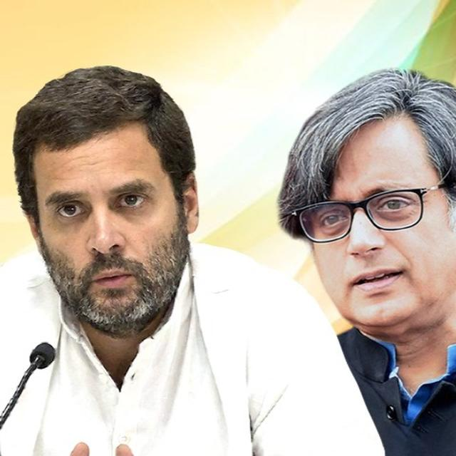 BJP DEMANDS THAROOR'S OUSTER