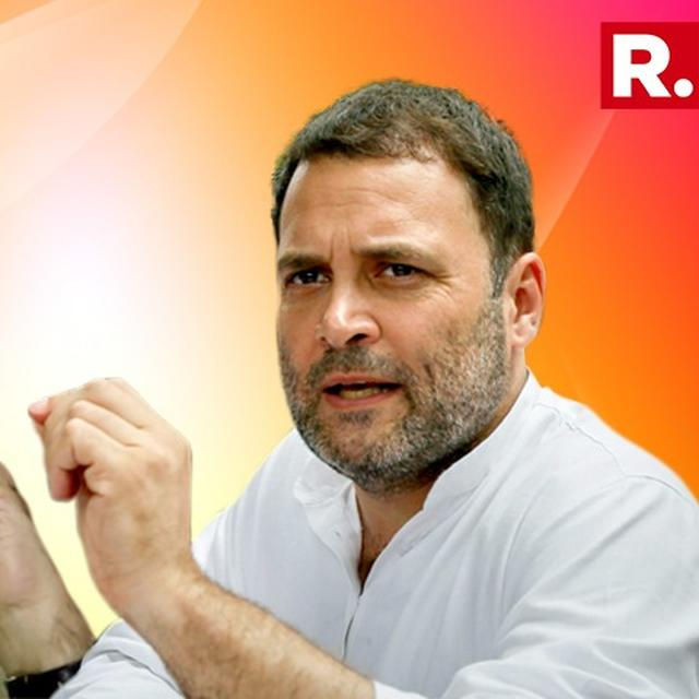 J&K IS 'ON FIRE' BECAUSE OF MODI'S 'MISTAKES': RAHUL