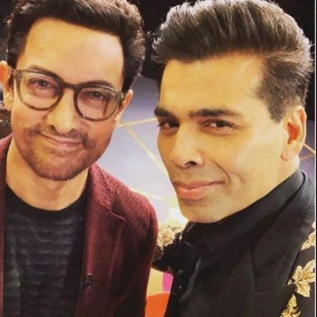 KOFFEE WITH KARAN 6 | AAMIR KHAN DOESN'T HOLD BACK, REVEALS 'I DON'T COVER MY HICKEYS'