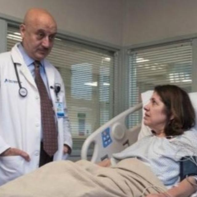 ANUPAM KHER SHARES A HEARTBREAKING STILL FROM 'NEW AMSTERDAM'