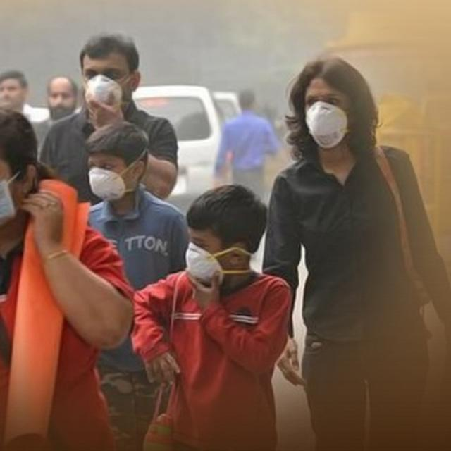 Delhi Continues To Reel Under 'Very Poor' Air Quality