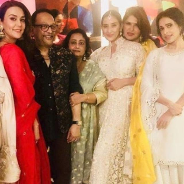 IN PICS | PREITY ZINTA'S DIWALI WAS ABOUT BONDING WITH NUSHRAT BHARUCHA, MANISHA KOIRALA, JACKIE SHROFF AND LONGING FOR AN IMPORTANT PERSON