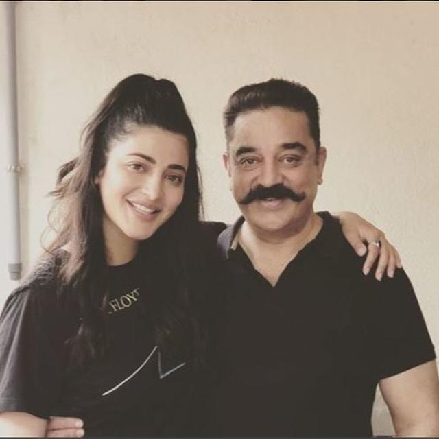 DOTING DAUGHTER SHRUTI HAASAN WISHES 'BAPUJI' KAMAL HAASAN ON HIS BIRTHDAY WITH AN ADORABLE THROWBACK PICTURE