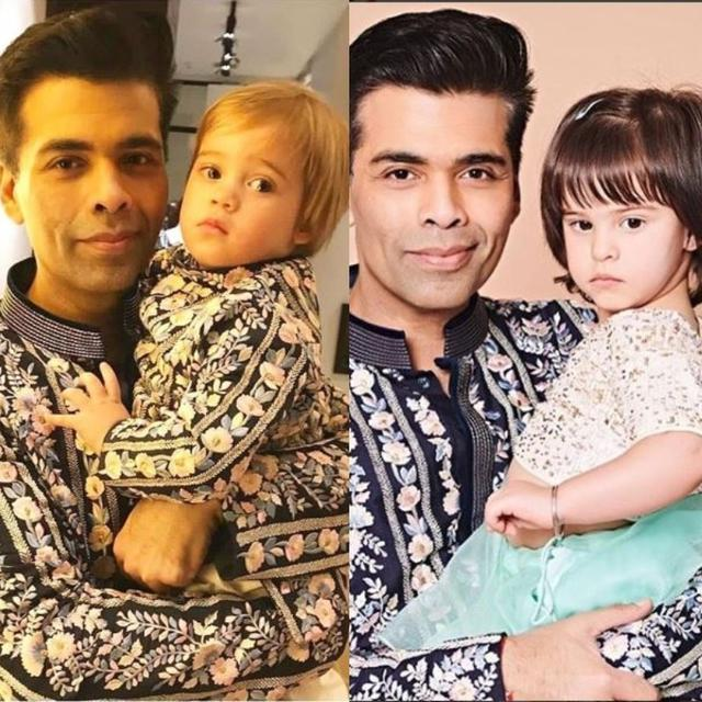 THESE HEARTWARMING PICTURES OF KARAN JOHAR WITH HIS TWINS YASH AND ROOHII IS WHAT DIWALI IS ALL ABOUT