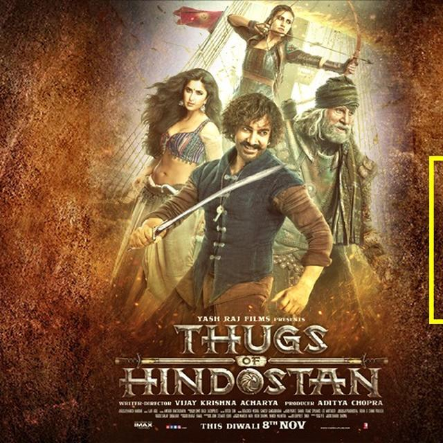 'THUGS OF HINDOSTAN' MOVIE REVIEW: AMITABH BACHCHAN-AAMIR KHAN'S SMOOTH PERFORMANCES FAIL TO ANCHOR THIS SINKING PREDICTABLE TALE