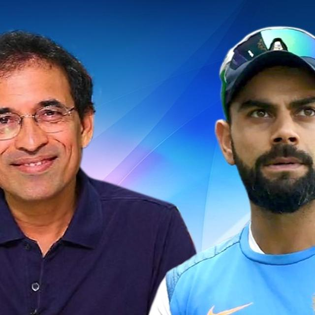 HARSHA BHOGLE'S TAKE ON KOHLI'S 'LIVE OUTSIDE INDIA' COMMENT