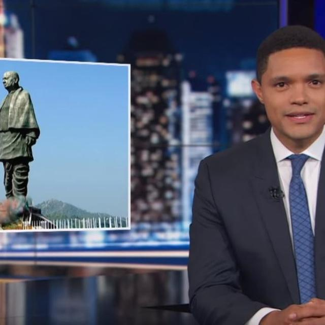 COMEDIAN JOKES ABOUT STATUE OF UNITY, NETIZENS RESPOND