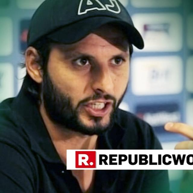 SHAHID AFRIDI GOES ON BACK FOOT AFTER HIS COMMENT CAUGHT ON TAPE