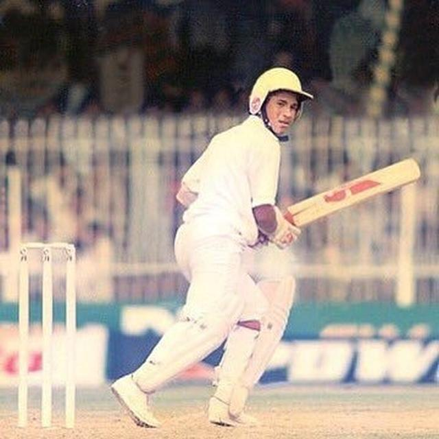 SACHIN GOES BACK IN TIME ON HIS 29TH ANNIVERSARY OF HIS INTERNATIONAL DEBUT