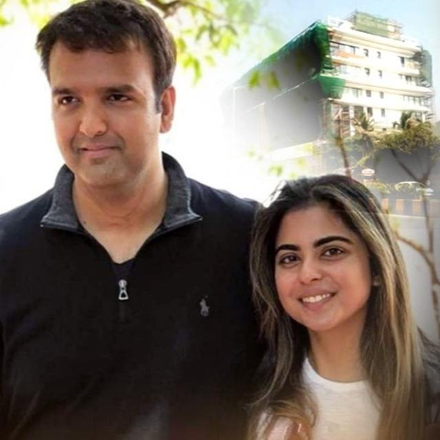 ISHA AMBANI AND ANAND PIRAMAL ARE LIKELY TO MOVE TO A 450-CRORE SEA FACING BUNGALOW AFTER THEIR WEDDING