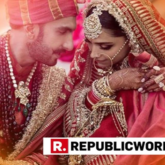ITS' HERE: RANVEER SINGH AND DEEPIKA PADUKON SHARE THEIR FIRST OFFICIAL PICTURE TOGETHER AS A MARRIED COUPLE!