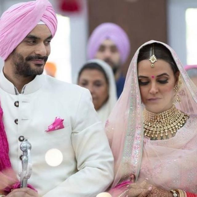NEHA DHUPIA AND ANGAD BEDI BLESSED WITH THE ARRIVAL OF A BABY GIRL