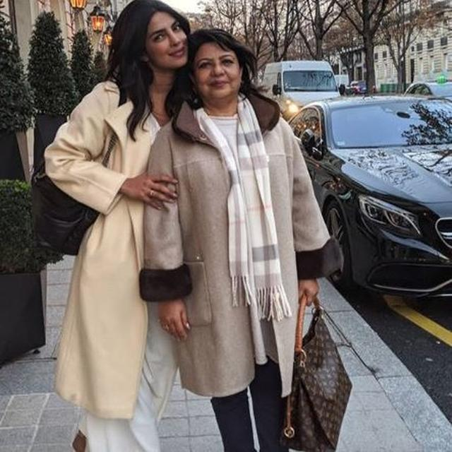 AHEAD OF HER WEDDING, PRIYANKA CHOPRA ENJOYS SOME QUALITY TIME WITH MOTHER MADHU IN PARIS