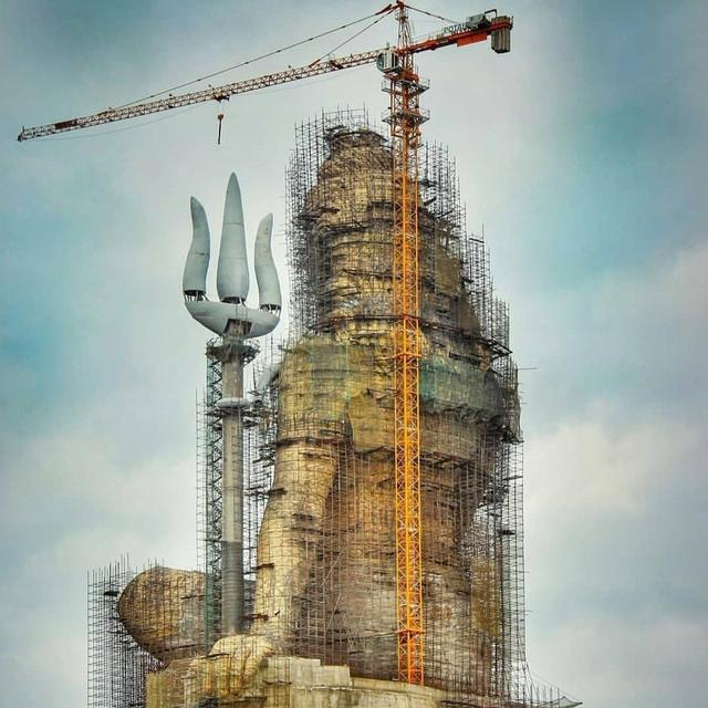 WORLD'S TALLEST SHIVA MURTI TO BE COMPLETED BY 2019