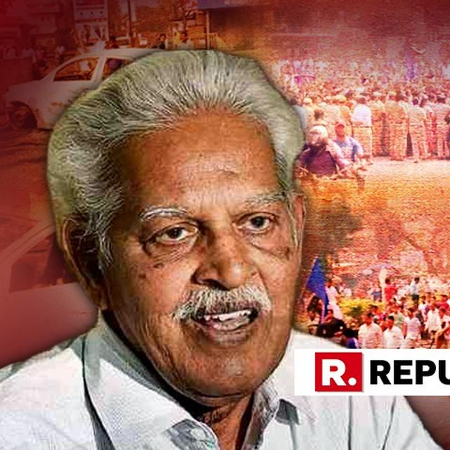 PUNE COURT REMANDS VARAVARA RAO IN POLICE CUSTODY TILL NOVEMBER 26