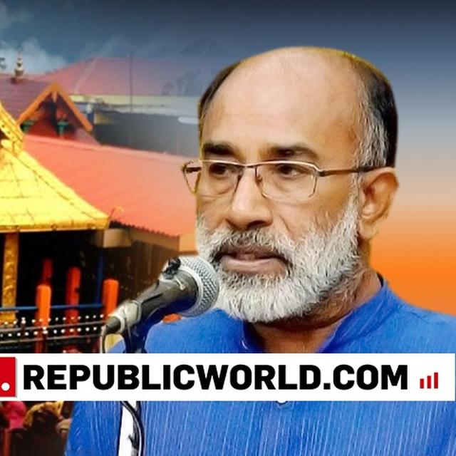 Sabarimala row: K J Alphons hits out at Kerala government, 68 people taken into custody