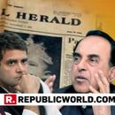 PATIALA HOUSE COURT DISMISSES CONGRESS LEADER MOTILAL VORA'S PLEA SEEKING TO RESTRAIN SUBRAMANIAN SWAMY FROM TWEETING ABOUT NATIONAL HERALD CASE