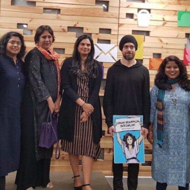 TWITTER CEO FACES BACKLASH FOR 'SMASH BRAHMANICAL PATRIARCHY' PLACARD