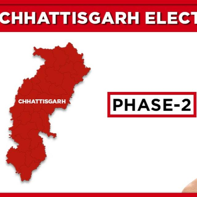CHHATTISGARH ASSEMBLY POLLS 2018, SECOND PHASE LIVE