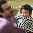 AS PICTURES OF TAIMUR ALI KHAN TOY GO VIRAL, THE LITTLE ONE'S FATHER SAIF ALI KHAN REACTS