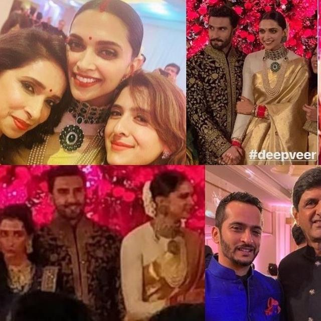 INSIDE PICS, VIDEOS: DEEPIKA PADUKONE-RANVEER SINGH AND FAMILY MEMBERS GREET GUESTS WITH THEIR BRIGHTEST SMILES