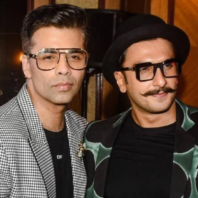RANVEER HAS AMAZING CHEMISTRY WITH SOMEONE, AS PER KARAN JOHAR, AND IT'S NOT DEEPIKA