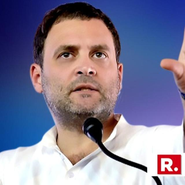 RAHUL IN DAMAGE CONTROL: CONDEMNS CP JOSHI STATEMENT