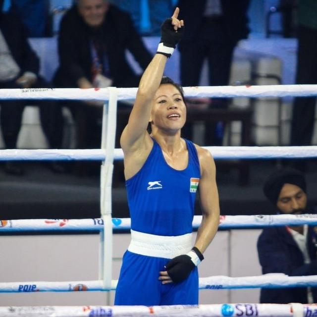INDIA'S MARY KOM CREATES HISTORY