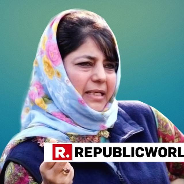 MEHBOOBA ALLEGES DECISION ON J-K BANK AN ATTEMPT TO FIDDLE WITH STATE'S SPECIAL STATUS