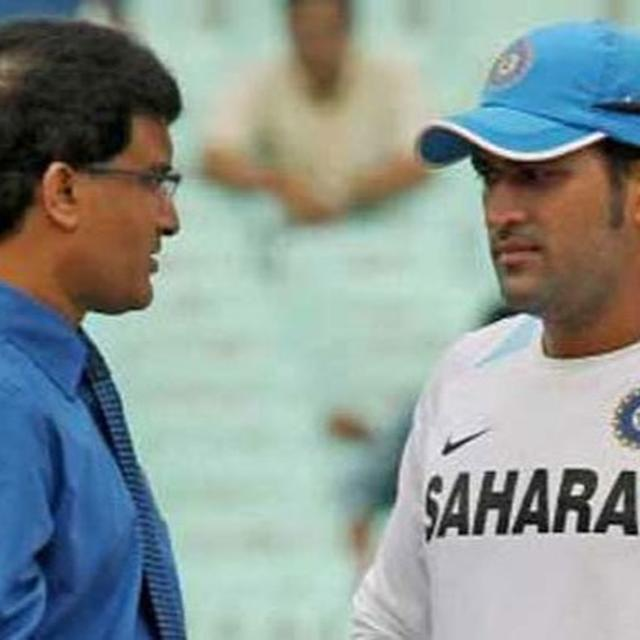 GANGULY REVEALS HILARIOUS CONVERSATION WITH FORMER PAK PRESIDENT OVER DHONI